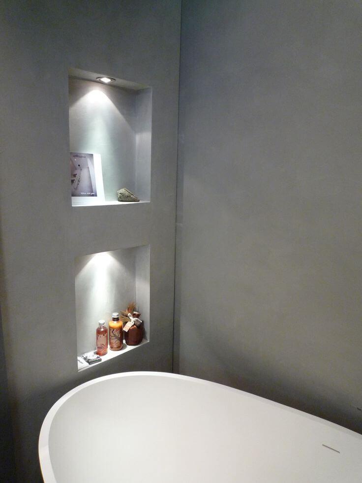 parete grigio