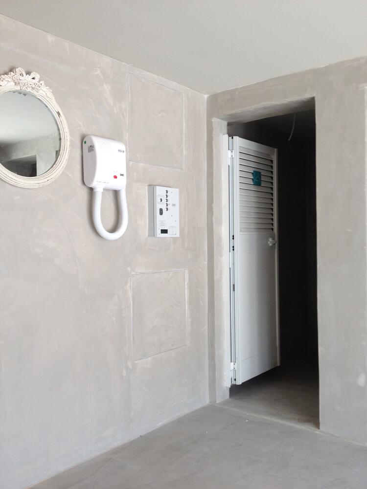 pavimento microcemento nel bagno