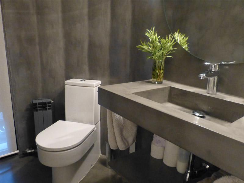 colori del microcemento per il bagno
