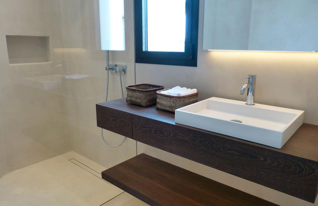 Microcemento bagno pavimento microcemento bagno - Suelos para banos modernos ...