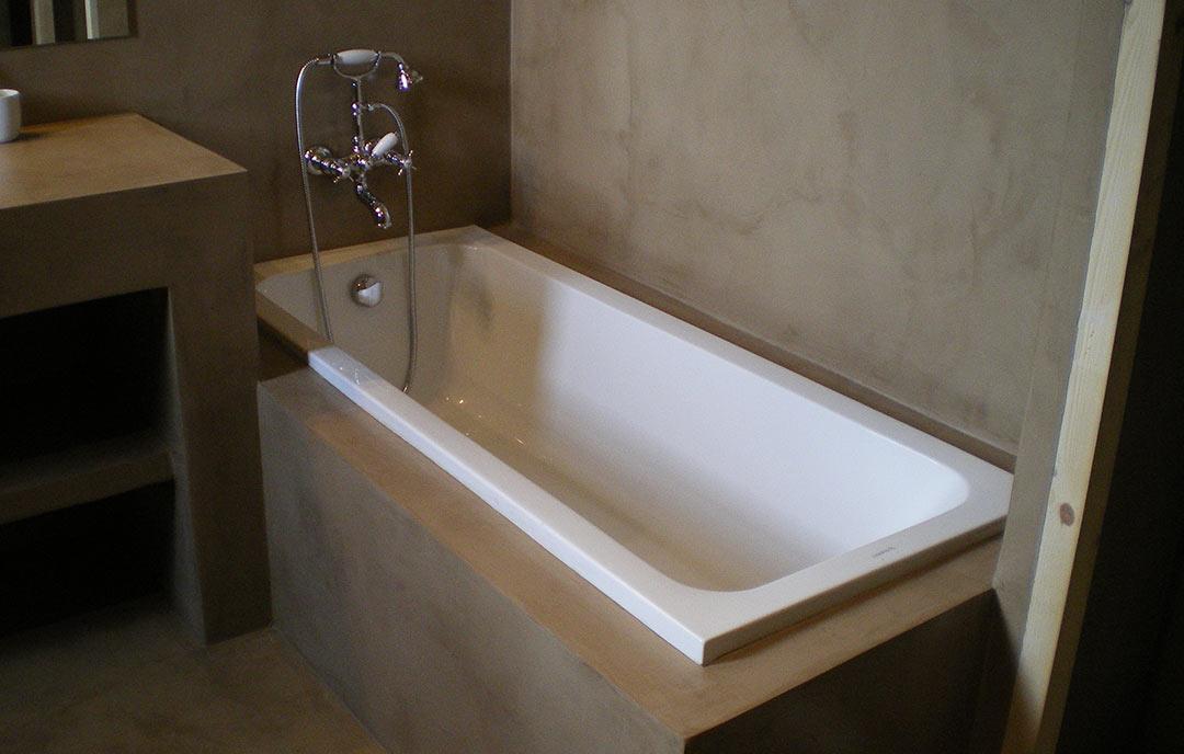 bagno creato in microcemento