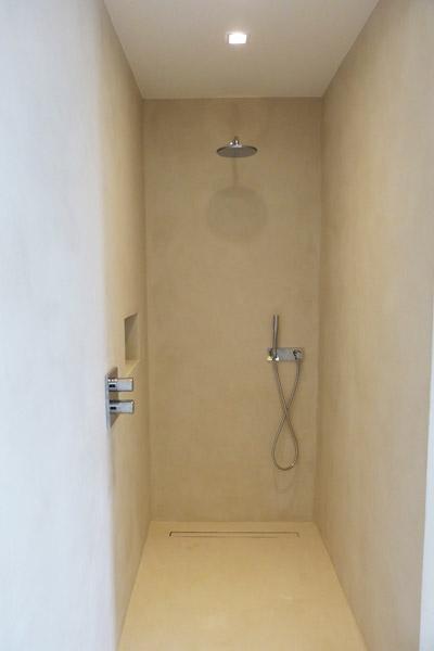 microcemento doccia