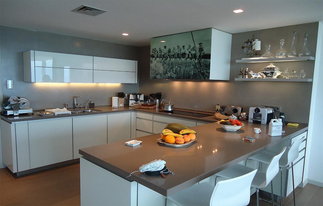 microcemento cucina