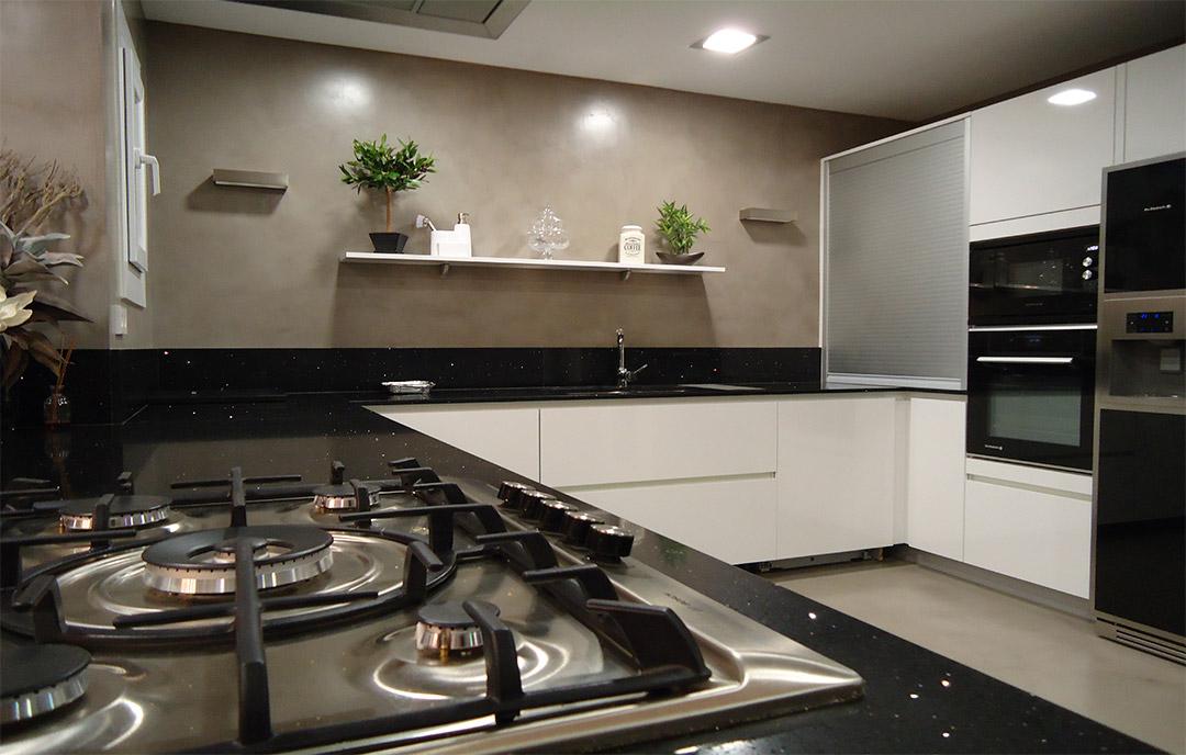 microcemento nella cucina