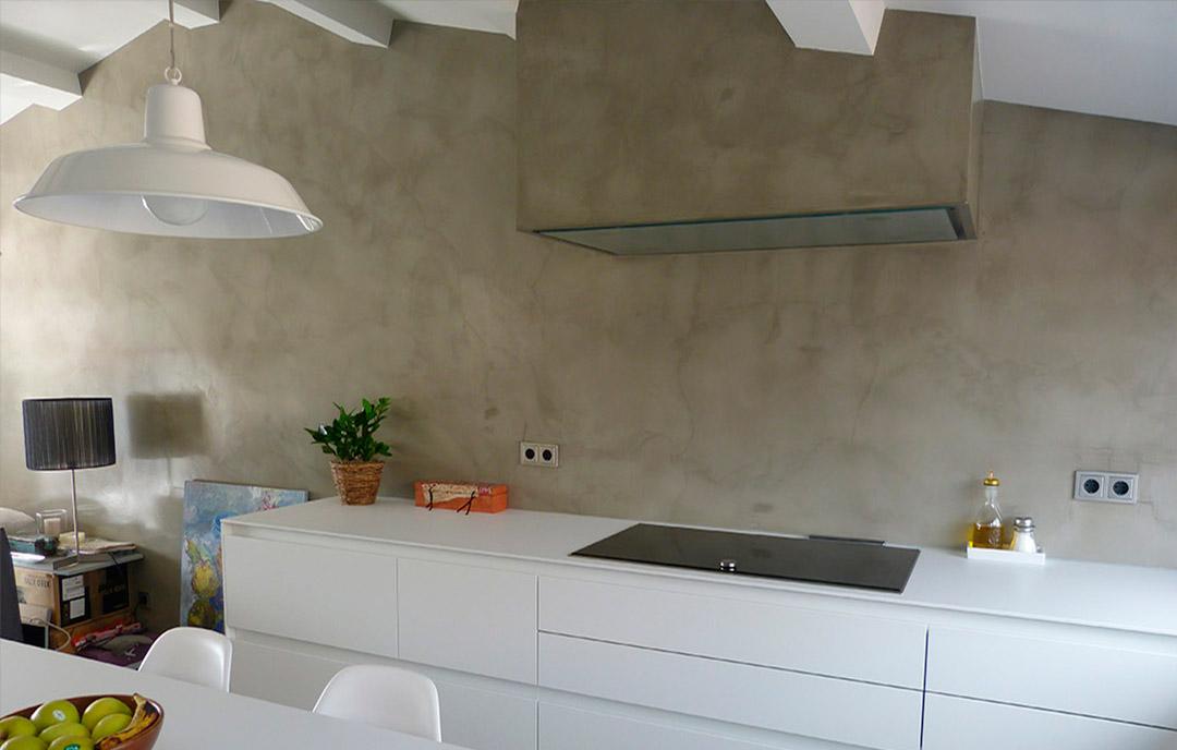 pareti in microcemento