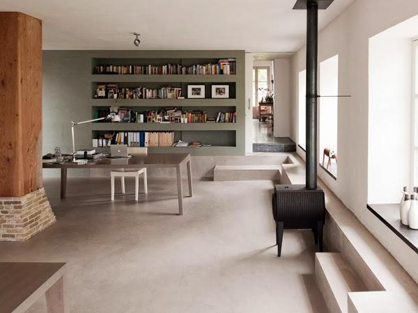 pavimento nel soggiorno