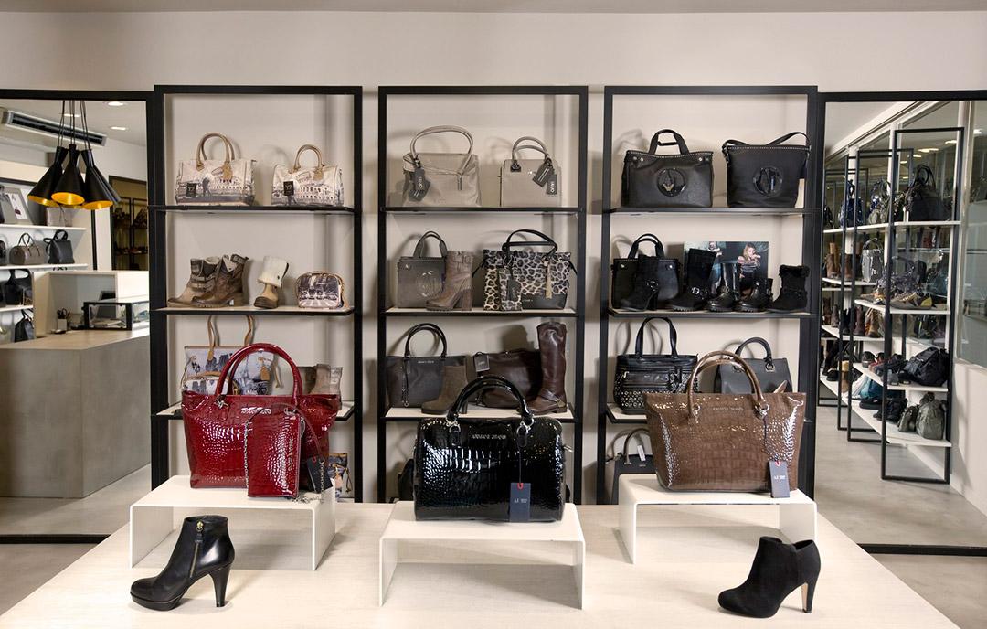 negozio di borse